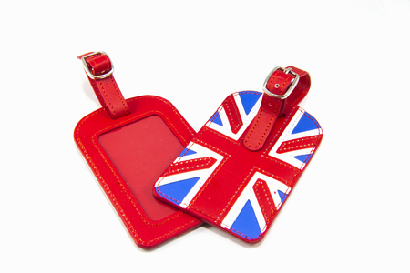 England Flag Style Luggage Tag