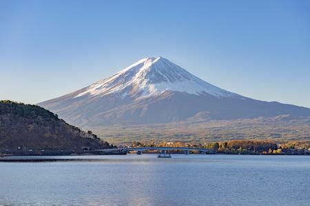 Fuji Mountain at Kawaguchiko Lake, Japan
