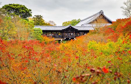 Tofukuji Temple in Autumn, Kyoto, Jaoan