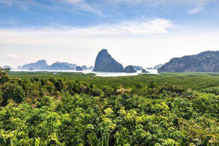 Samet Nangshe Viewpoint, Phang-gna Bay, Thailand