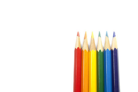 Colored pens in the raw Stock Photo - 16812811