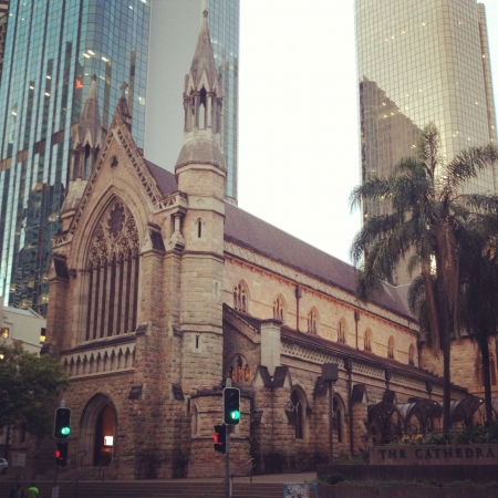 stephen: Cattedrale di Santo Stefano Brisbane Australia Archivio Fotografico