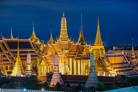 bouddha: Wat Phra Kaew, Bangkok, Tha�lande.