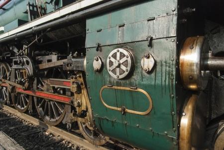 Ancient Train photo