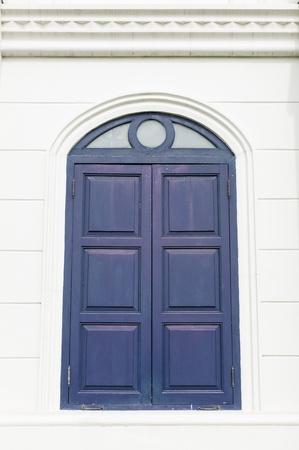 Blue Windows photo
