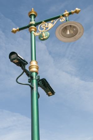 Street Light with CCTY photo