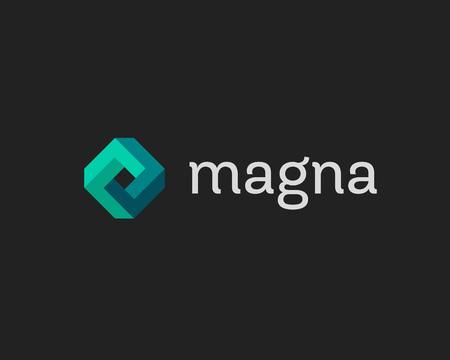 Abstract template logo design infini cube. médias Technology app store signe géométrique. rhomb universel vecteur icône symbole