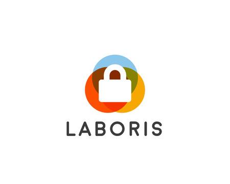 lock symbol: Security lock  design, vector symbol