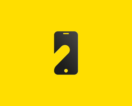 touch screen phone: Smart phone negative space symbol. Touch screen finger monitor mobile phone hand creative sign. Tablet PC, gadget idea vector.