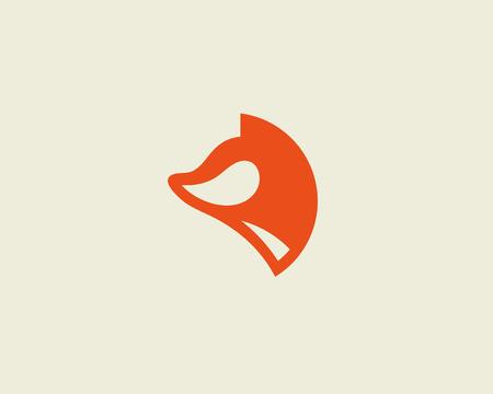 foxy: Fox vector. Foxy design template. Illustration