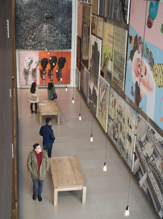 Sydney, AUSTRALIA - JUL 14: The White Rabbit Contemporary Chinese art collection, One of the world�s largest and most significant collections of contemporary Chinese art was founded by Kerr and Judith Neilson.