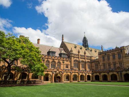 tertiary: Historic Quadrant Building at University of Sydney, Sydney, AUSTRALIA