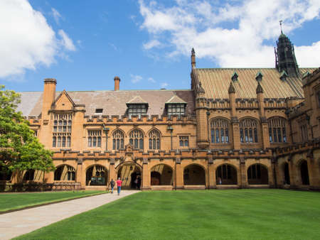 kwadrant: Historic Quadrant Building at University of Sydney, Sydney, AUSTRALIA