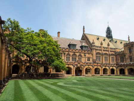 Historic Quadrant Building at University of Sydney, Sydney, AUSTRALIA