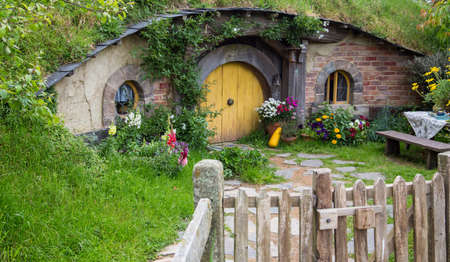 Hobbiton Movie Set, Matamata, Isla Norte, Nueva Zelanda