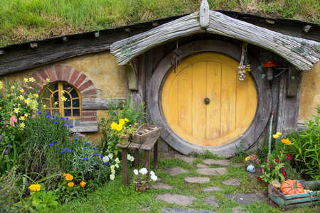 Hobbiton Movie set, Matamata, North Island, New Zealand 新聞圖片