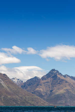 remarkable: Remarkable of Lake Wakatipu at Frankton Arm, Queenstown, NEW ZEALAND