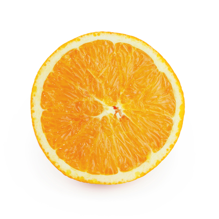 isolated orange with clipping path Stock Photo - 93311138