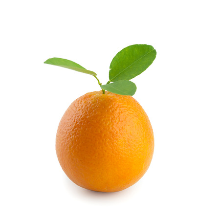 isolated orange with clipping path Stock Photo