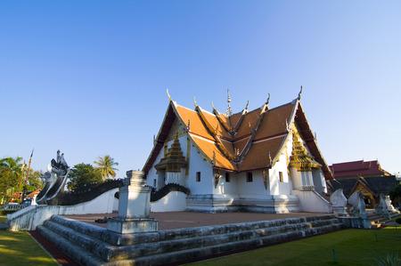 min: wat phu min, temple in northern thailand