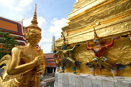 thialand: Welcome to thialand - Kinnari statue in Wat Phra Kaew