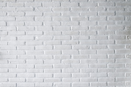 clay brick: White brick wall texture background