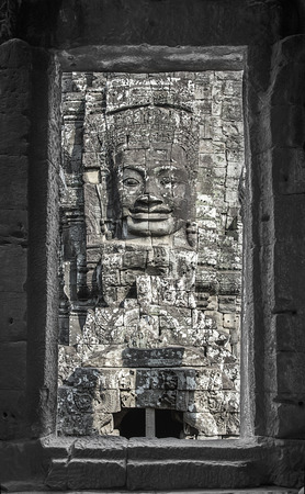 thom: angkor thom in door fame