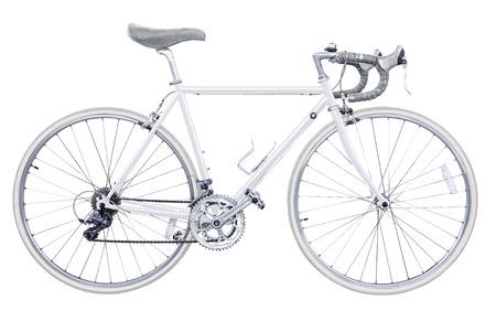 road bike: vintage road bike isolated
