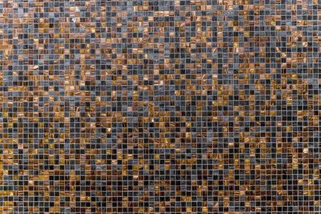 brown and black and light brown grunge mosaic wall tile texture background, texture mosaic tiles for the bathroom, kitchen, zhdya floor and walls,