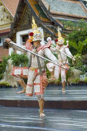 khon: khon,demon character in Thai drama