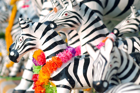african animals: zebra doll for redeem a vow to a god