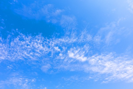 blue and white: Tropical  Blue Sky Cloud, abstract cloud Background, skyscape