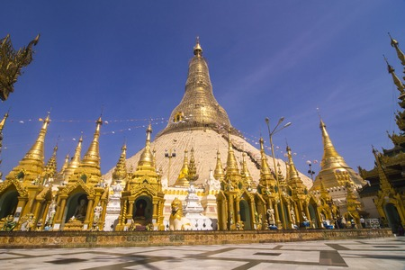 public domain: shwedagon pagoda - Myanmar famous golden pagoda sacred and tourist landmark, Yangon, myanmar, They are public domain or treasure of Buddhism