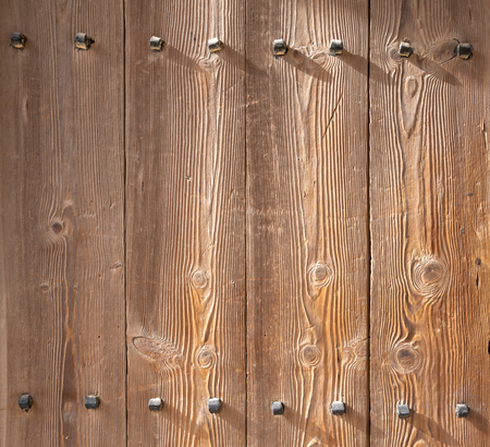polished wood: Ancient korean style pine polished Wood wall background and texture
