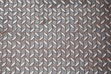 diamond plate: Diamond plate, checker plate is a type of lightweight metal stock with a regular pattern of raised diamonds or lines on one side for sidewalk anti-slip.
