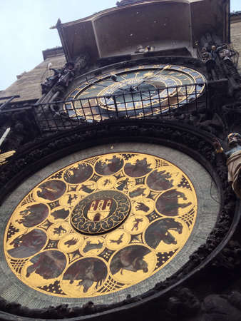 Astronomical clock in Prague Banco de Imagens - 22817232