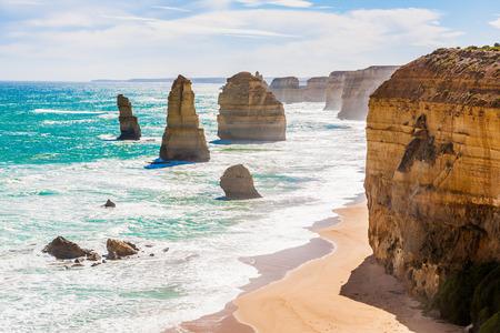 Twelve Apostles, Great Ocean Road, Melbourne, Australia Stock Photo