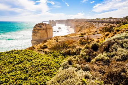 melbourne australia: Twelve Apostles, Great Ocean Road, Melbourne, Australia Stock Photo