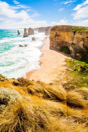 twelve: Twelve Apostles, Great Ocean Road, Melbourne, Australia Stock Photo