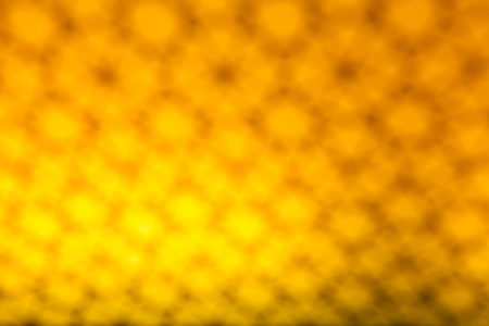 golden bokeh abstract blurred light background Stock Photo