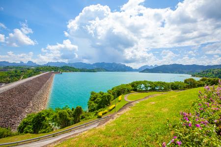 Ratchaprapa Dam Chaew Lan Dam Surat Thani Thailand
