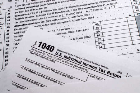Filing Tax Forms