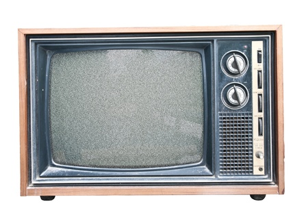 Old Retro TV noise.