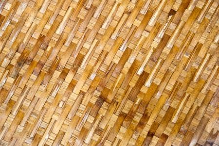 Texture of old bamboo handicraft. Stock Photo - 10490394