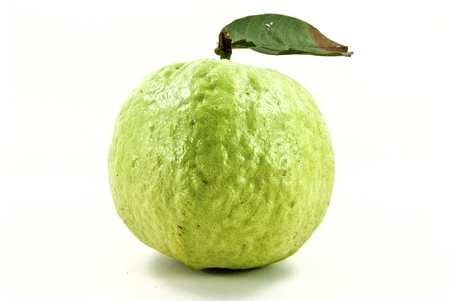 Green and fresh guava fruit. photo