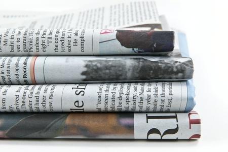 periodicos: Diario Foto de archivo