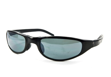 Old black sunglasses Stock Photo - 10995002