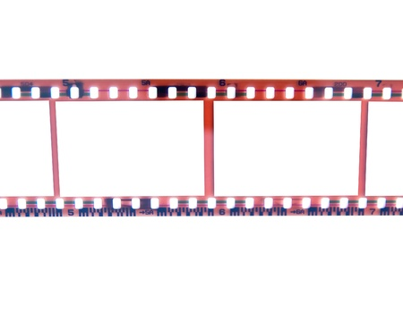 Old 35 mm film strip