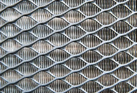 Metallic fence photo