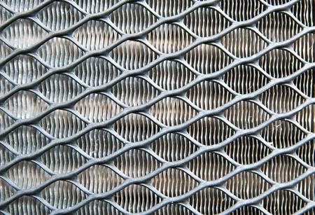Metallic fence photo